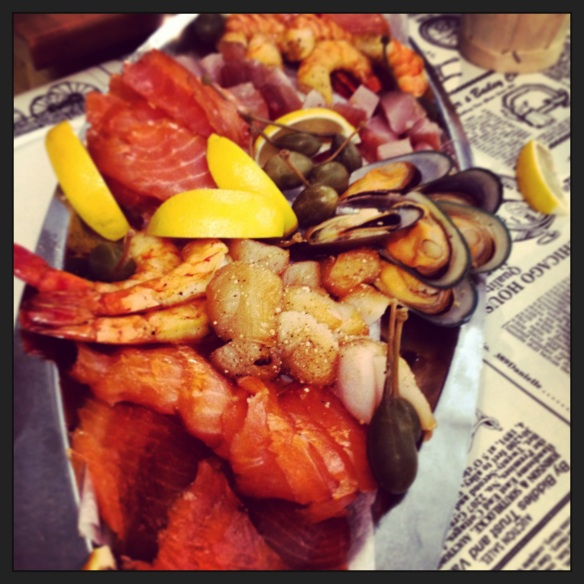 Smoked seafood at Chelsea Smoked House, outside Gatineau.