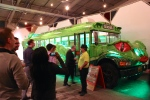 The crazy Gecko bus by Bill Pratt and Habaneros