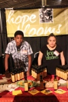 The young entrepreneurs of Hope Blooms salad dressings (as seen on Dragons Den!)